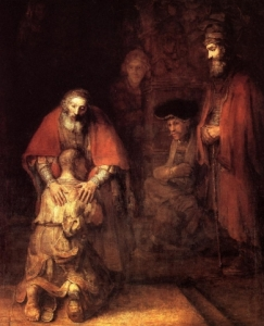 Rembrandt, Powrót syna marnotrawnego